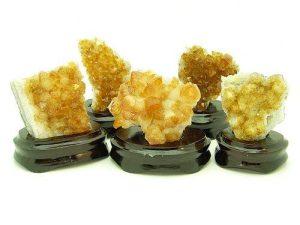 Feng Shui Citrine Plate (3 To 3.5 Inch)1