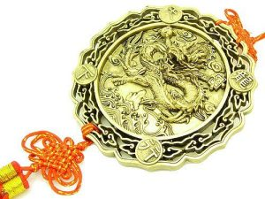 Good Fortune Dragon With Mystic Knot Talisman1