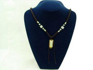 Jade Cicada Pendant with Chain1