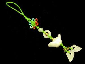 Jade Ingot Tassel (Green)1