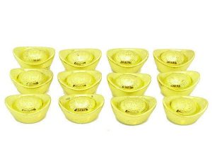 Little Good Fortune Gold Ingots (Set of 3, 6 or 12)1