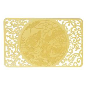 Love & Happiness Gold Talisman Card1