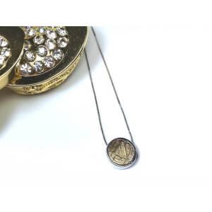 Meteorite Bead Pendant (Gold)1