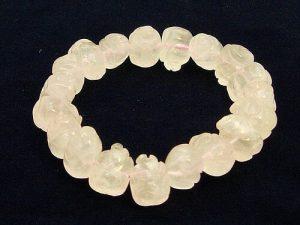 Rose Quartz Piggy Bracelet1