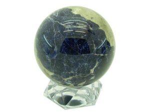 Sodalite Feng Shui Crystal Sphere 90Mm