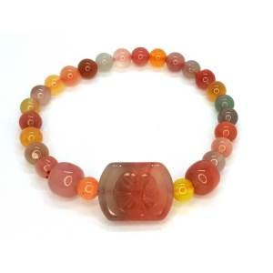 Yanyuan Candy Color Agate Bracelet1