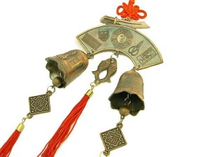 A wonderful and extremely auspicious amulet made up of many great Feng Shui symbols.