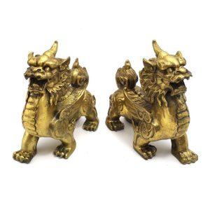 Pair-of-Brass-Feng-Shui-Pi-Xiu3