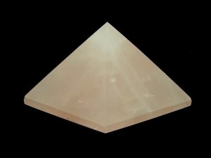 Feng Shui Rose Quartz Crystal Pyramid