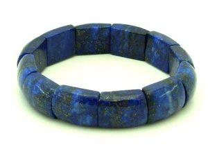 Lapis Lazuli Bangle Style Bracelet