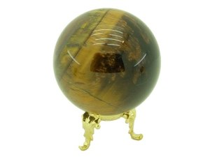 Tiger's Eye Crystal Ball 80Mm