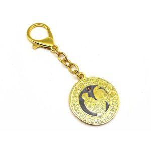 Happy Relationships & Anti-Infidelity Medallion Keychain