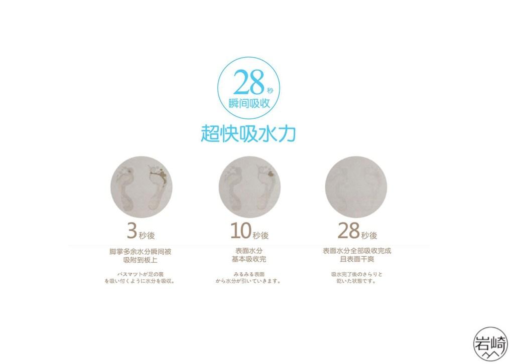 日本岩崎硅藻土地墊 - 超級吸濕抗菌防霉 - 岩崎硅藻土地墊 10