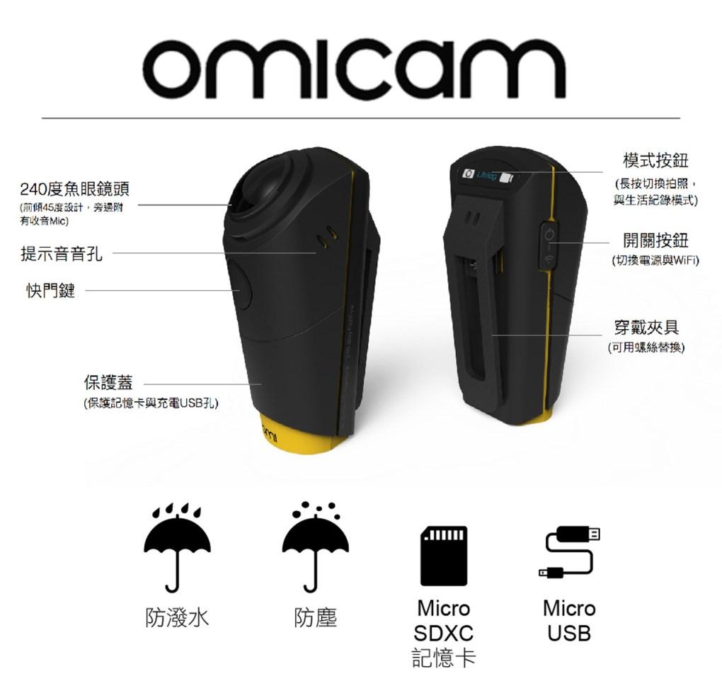 OmiCam 穿戴式VR全景攝影機 - 18photo