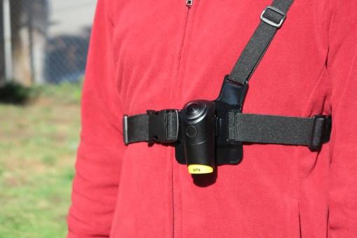 Omi 專用胸肩帶 穿戴記錄神器 - 03 Omi專用胸肩帶 穿戴記錄神器 穿著示範