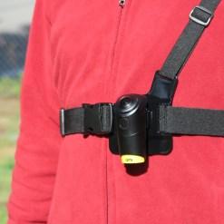 熱銷好物排行 - 03 Omi專用胸肩帶 穿戴記錄神器 穿著示範
