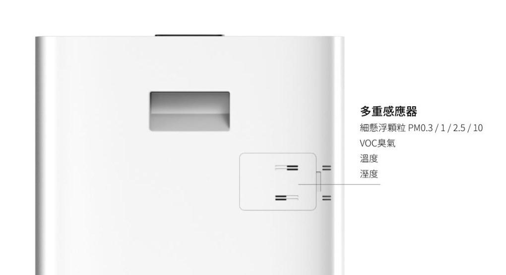 BRISE C360 防疫級空氣清淨機 (專為嬰幼兒健康設計) - C360 感測器