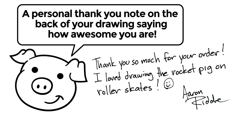 Buy a Drawing: Custom Cartoon Drawings by a Pro Cartoonist!