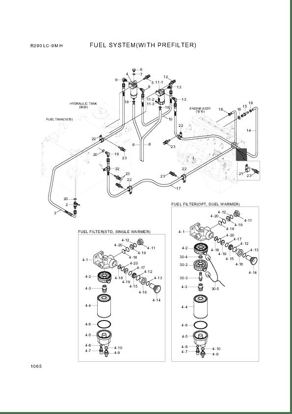 Buy Hyundai Construction Equipment 11NA-71041 FILTER-FUEL