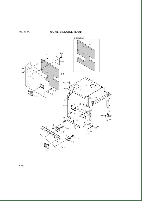Buy Hyundai Construction Equipment 72LM-41000 PLATE-LOCK