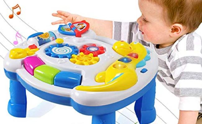 Actrinic Baby Toys Musical Learning Table 6 To 12 Months