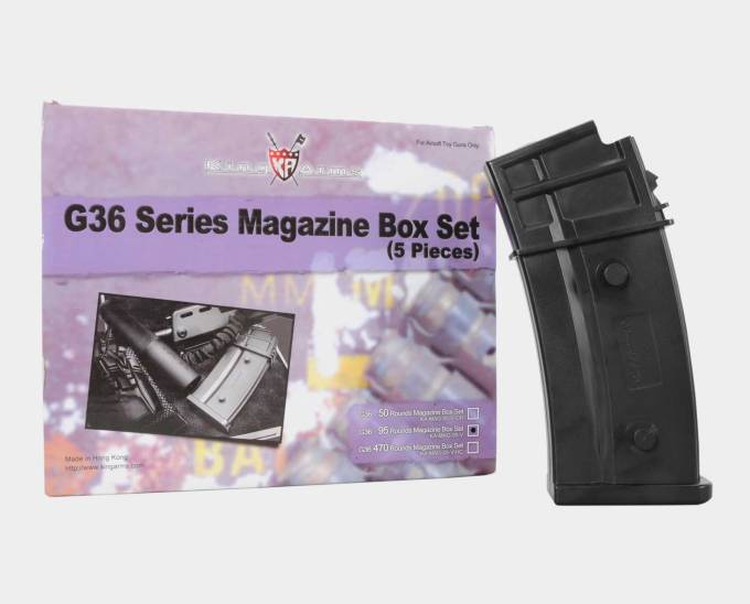 King Arms G36 mid-Cap Box Set