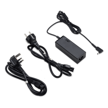 Acer AC Adapter 45W-19V for Laptops - EU/UK Power Cord