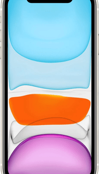 Apple iPhone 11 (128GB White) at £29.00 on Red with Entertainment (24 Month(s) contract) with UNLIMITED mins; UNLIMITED texts; 6000MB of 5G data. £61.00 a month.