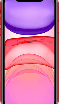 Apple iPhone 11 (64GB (PRODUCT) RED Used Grade A) at £99.00 on Red (24 Month(s) contract) with UNLIMITED mins; UNLIMITED texts; 2000MB of 4G data. £42.00 a month.