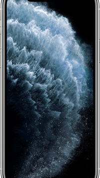 Apple iPhone 11 Pro (64GB Silver Used Grade A) at £99.00 on Red with Entertainment (24 Month(s) contract) with UNLIMITED mins; UNLIMITED texts; 6000MB of 5G data. £69.00 a month.
