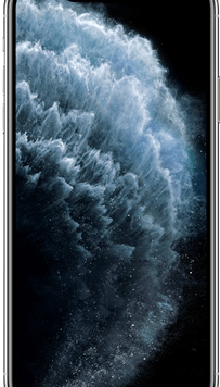Apple iPhone 11 Pro Max (64GB Silver Used Grade A) at £99.00 on Red (24 Month(s) contract) with UNLIMITED mins; UNLIMITED texts; 6000MB of 5G data. £66.00 a month.