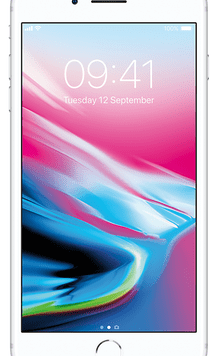 Apple iPhone 8 Plus (64GB Silver Used Grade A) at £9.00 on Red (24 Month(s) contract) with UNLIMITED mins; UNLIMITED texts; 24000MB of 5G data. £47.00 a month.