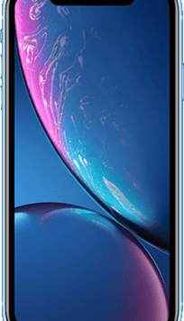 Apple iPhone XR (64GB Blue Used Grade A) at £49.00 on Red (24 Month(s) contract) with UNLIMITED mins; UNLIMITED texts; 6000MB of 5G data. £42.00 a month.