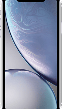 Apple iPhone XR (64GB White) at £29.00 on Red (24 Month(s) contract) with UNLIMITED mins; UNLIMITED texts; 24000MB of 5G data. £51.00 a month.