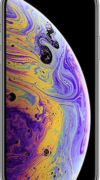 Apple iPhone XS (256GB Silver Used Grade A) at £49.00 on Red (24 Month(s) contract) with UNLIMITED mins; UNLIMITED texts; 24000MB of 5G data. £71.00 a month.