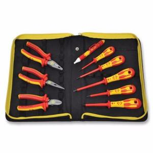 C.K Tools 9 Piece PZ Electricians VDE Pliers & Screwdrivers Tool Kit