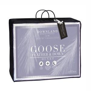 Downland White Goose Feather & Down 10.5 Tog Super King Size Duvet