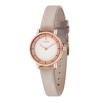 Fjord Marina Ladies' Watch with Genuine Leather Strap