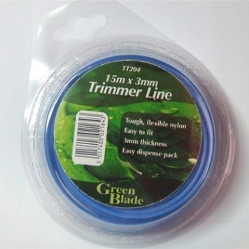 Green Blade 3mm Trimmer Line x 15m