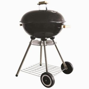Hadley 18 Portable Black Barbecue With Enameled Finish