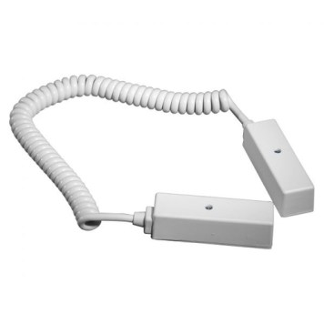 Knight 6 Way 10 Coiled Door Loop - White