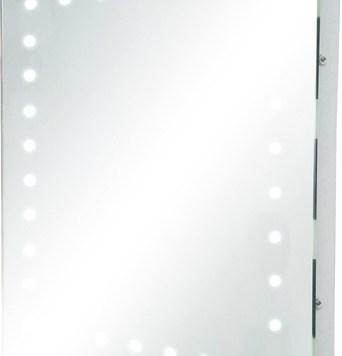 KnightsBridge IP44 Rectangular LED Bathroom Mirror