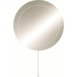 KnightsBridge IP44 Round LED Bathroom Mirror