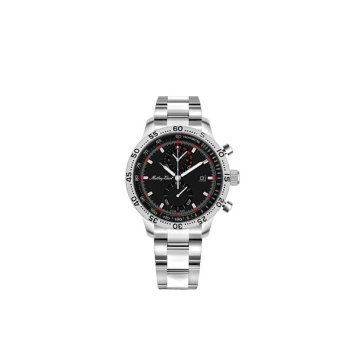 Mathey Tissot Gent's Type 23 Chronograph Watch with Stainless Steel Bracelet