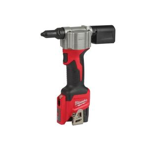 Milwaukee Power Tools M12 BPRT-201X Pop Rivet Tool Kit 12V 1 x 2.0Ah Li-ion