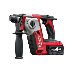 Milwaukee Power Tools M18 BH-402C 2 Mode SDS Hammer 18V 2 x 4.0Ah Li-ion