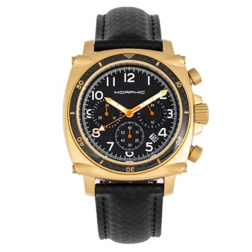 Morphic Gents M83 Series Watch with Genuine Leather Strap
