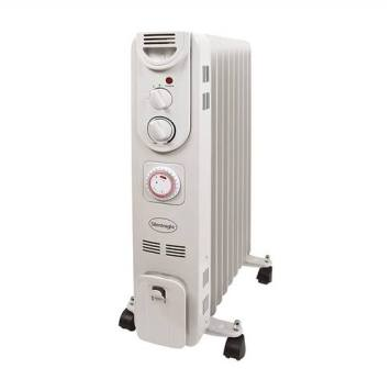 Silent Night 2Kw 9 Fin Oil Filled Radiator with Timer