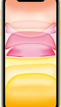 Apple iPhone 11 (64GB Yellow) at £49.00 on Red (24 Month(s) contract) with UNLIMITED mins; UNLIMITED texts; 6000MB of 5G data. £50.00 a month.