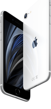 Apple iPhone SE (2020) (256GB White) at £49.00 on Red with Entertainment (24 Month(s) contract) with UNLIMITED mins; UNLIMITED texts; 6000MB of 5G data. £49.00 a month.